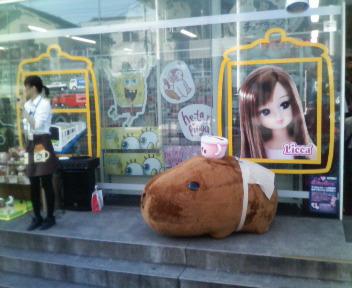 ボクと妹のいる風景の合間の東京